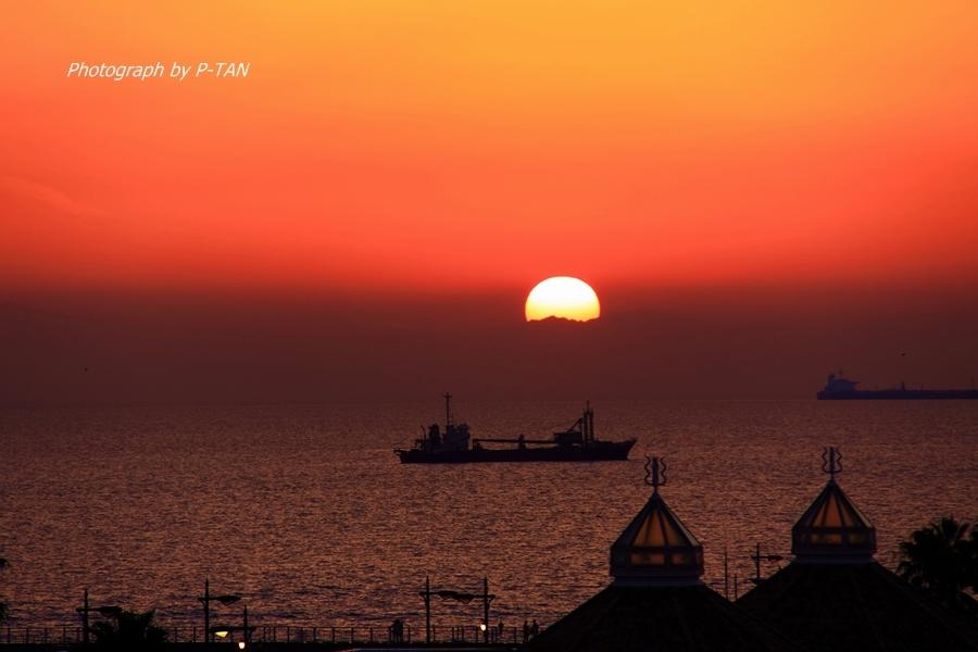 Romantic sunset.JPG